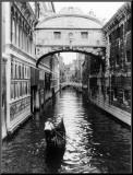 Venice Canal Mounted Print by Cyndi Schick