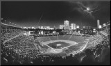 Wrigley Field Mounted Print by Scott Mutter