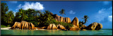 La Digue Island, Seychelles, Indian Ocean Mounted Print by K.H. Hanel