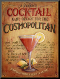 Cosmopolitan Mounted Print by Lisa Audit