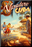 Varadero, Cuba Mounted Print