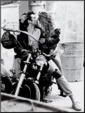 Harley Davidson Mounted Print by Frank Schott