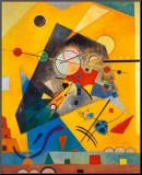 Stille harmoni Opspændt tryk af Wassily Kandinsky