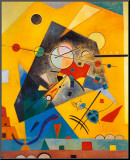 Quiet Harmony Mounted Print by Wassily Kandinsky