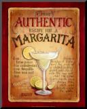 Margarita Mounted Print by Lisa Audit