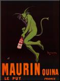 Maurin Quina, c.1906 Impressão montada por Leonetto Cappiello