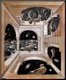 Another World Mounted Print by M. C. Escher