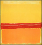 Number 5 Mounted Print by Mark Rothko