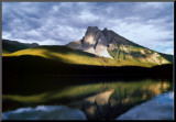 Vision: Mountain Reflection Mounted Print
