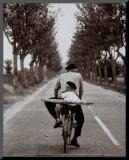Elliott Erwitt - Fransa - Arkalıklı Baskı