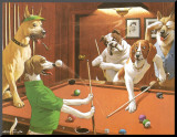 The Scratching Beagle Mounted Print by Arthur Sarnoff
