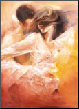 Emotional Dance Mounted Print by Robert Duval