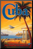 Visit Cuba Mounted Print by Kerne Erickson