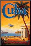 Visit Cuba Mounted Print by Kerne Erickson