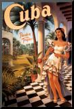Cuba Mounted Print by Kerne Erickson