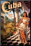 Kuba Monterat tryck av Kerne Erickson