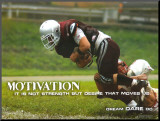 Motivation Mounted Print