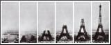 Eiffeltårnet Monteret tryk