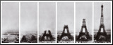 Tour Eiffel Mounted Print