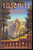 Yosemite, Glacier Point Hotel Mounted Print by Kerne Erickson