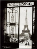 Paris, France, View of the Eiffel Tower Mounted Print by Gall 
