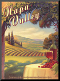 Napa Valley Mounted Print by Kerne Erickson