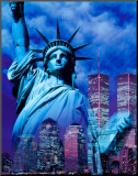 New York, Statue of Liberty Mounted Print