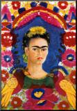 The Frame Mounted Print by Frida Kahlo