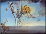 The Temptation of St. Anthony, c.1946 Mounted Print by Salvador Dalí