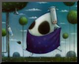 La toilette de la vache Affiche montée par Rob Scotton