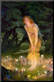 Midsummer Eve, c.1908 Mounted Print by Edward Robert Hughes