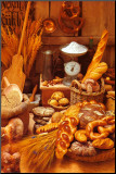 Bread Mounted Print by Frank Staub