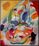 Improvisation No. 31, Sea Battle, c.1913 Mounted Print by Wassily Kandinsky