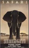 Serengeti Monteret tryk af Steve Forney