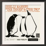 Shelly Manne, &quot;The Three&quot; and &quot;The Two&quot; Print