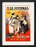 Le Journal: Les Mysteres de la Tour Pointue, c.1899 Poster by Théophile Alexandre Steinlen