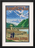 Bonneville Dam, Columbia River, Oregon Posters