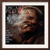 Oscar Peterson, Live at the Northsea Jazz Festival, 1980 Posters