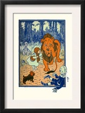 The Cowardly Lion Prints by William W. Denslow