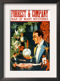 Forrest and Company: Man of Many Mysteries Prints