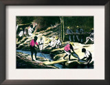 Diamond Washing in Brazil Print by John Howard Appleton