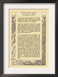 The Gettysburg Address Posters