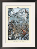 Puck Magazine: The Streets of New York Prints by Eugene Zimmerman