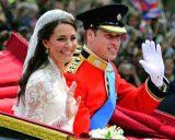 Royal Wedding - Prince William and Kate Middleton Photo