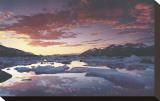 Montagne di St. Elias Stampa trasferimenti su tela di Art Wolfe
