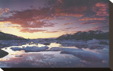 Montañas de St. Elias Reproducción en lienzo de la lámina por Art Wolfe