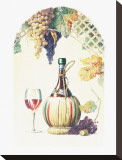 Chianti Classico Stretched Canvas Print by Lisa Danielle