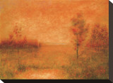 Autumn Field Stretched Canvas Print by Joseph P. Grieco