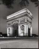 Arch de Triumph Stretched Canvas Print by Christopher Bliss