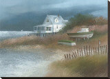 Down from Wellfleet Stretched Canvas Print by Albert Swayhoover